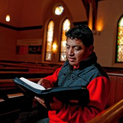 Undocumented immigrant Lucio Perez to speak at potluck at Amherst church where he takes sanctuary