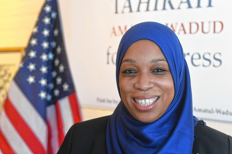 Amerikan Kongresi'nde yarışacak ilk Müslüman kadın: Wadud