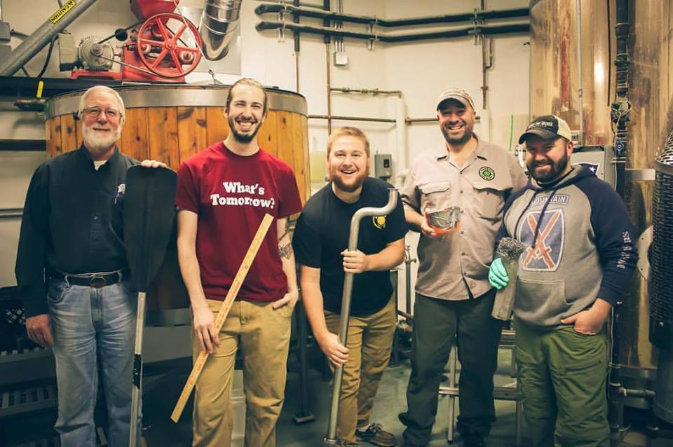 The crew at Amherst Brewing. Facebook photo