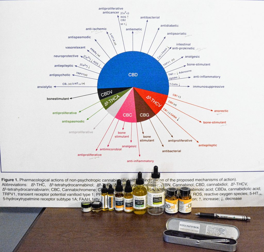 Parzybok points out that medical marijuana is available in a host of different forms, strengths and varieties.