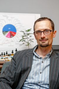 Ezra Parzybok says his book aims to clear up confusion about medical marijuana.