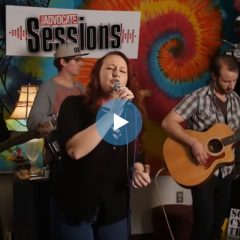 The Screaming Hearts on the Valley Advocate Sessions Stage