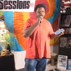 Maurice Soulfighter Taylor on the Valley Advocate Sessions Stage