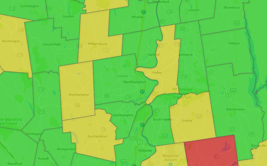 O' Cannabis!: An interactive map of marijuana moratoriums and bans in Pioneer Valley