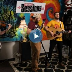 Pinedrop on the Valley Advocate Sessions Stage
