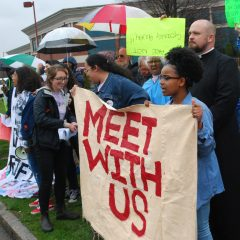 Students continue to call for meeting with Smith & Wesson CEO to discuss urban gun violence
