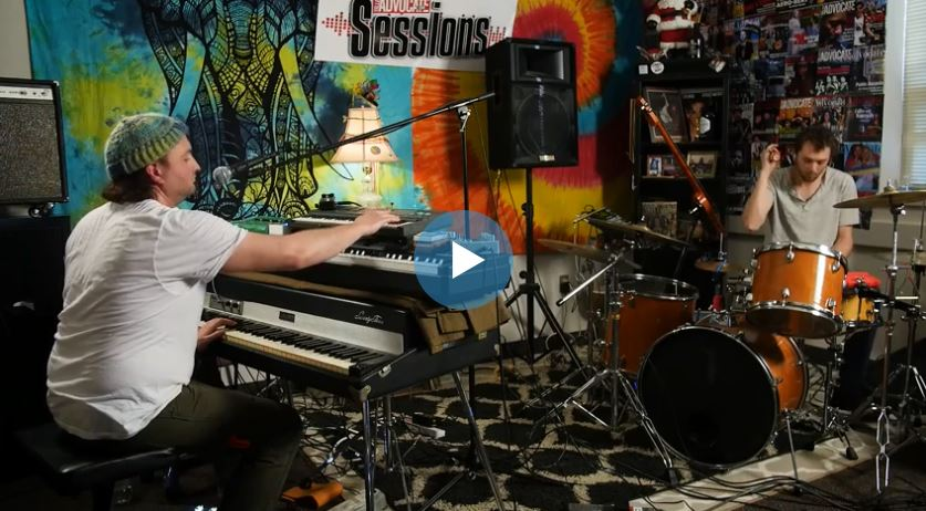 Fuzz Puddle on the Valley Advocate Sessions Stage