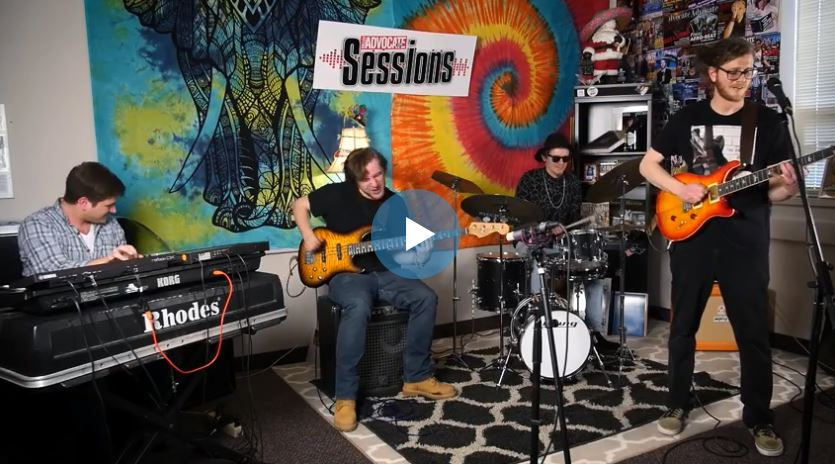 Ginja Low Main on the Valley Advocate Sessions Stage