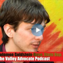 Valley Advocate Podcast: Solomon Goldstein-Rose on why he dumped the Democratic party