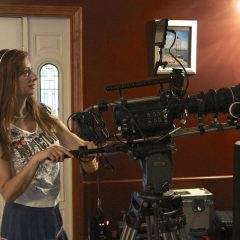 Local female film producer Colleen Lyon talks about new horror film 'Silenced'