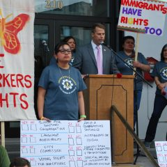 Northampton Mayor David Narkewicz pledges to support protections for undocumented immigrants