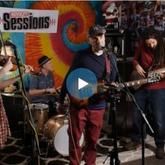 The Gaslight Tinkers on the Valley Advocate Sessions Stage