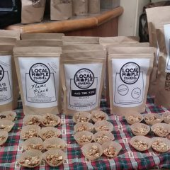 Holyoke-based granola business features blends of local bands