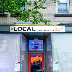 #LOCAL gallery brings a big city feel to Easthampton's cultural district