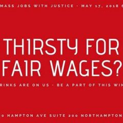 Today: Thirsty for Fair Wages mixes activism with milkshakes and margaritas