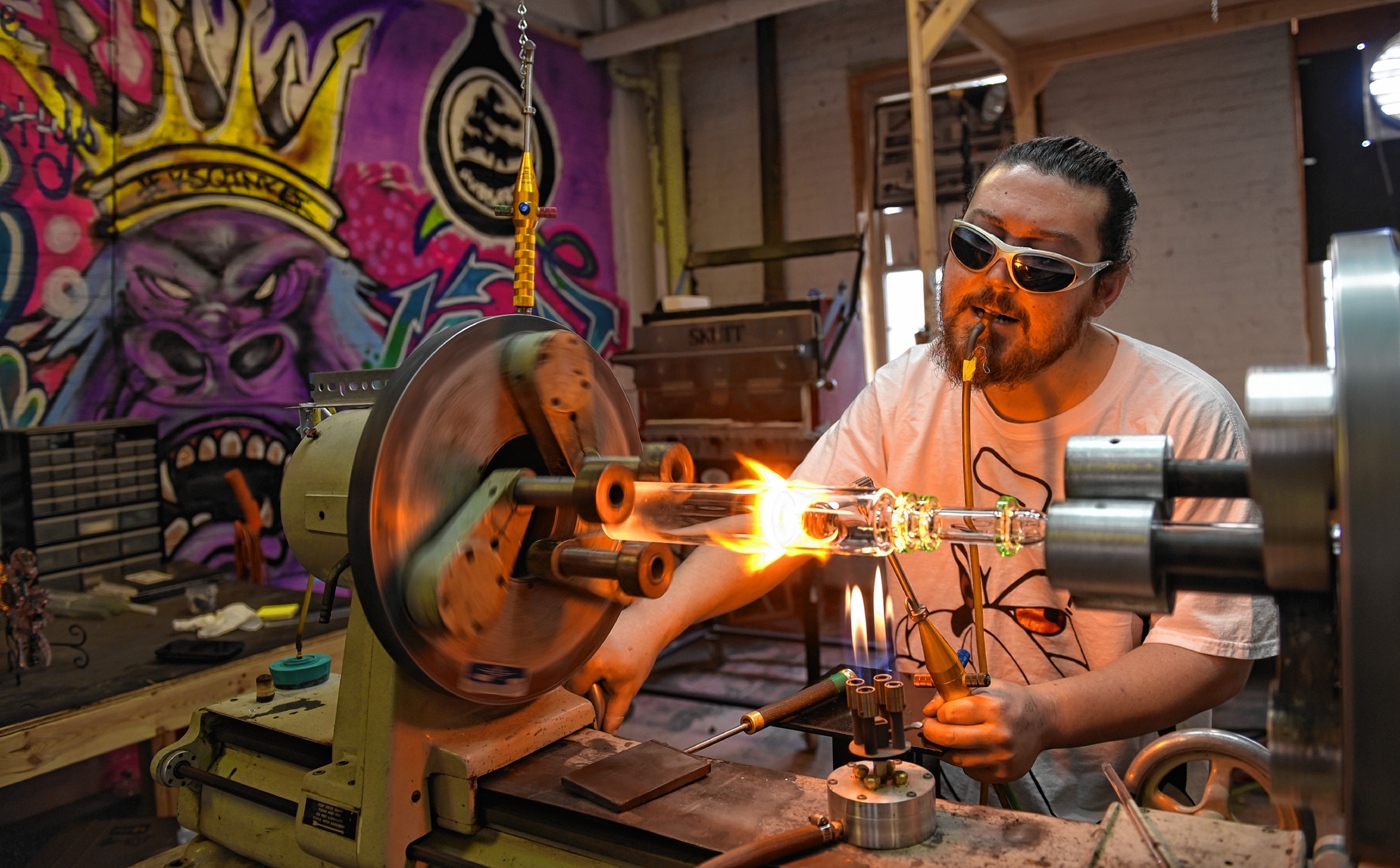 O Cannabis: From stigmatized weed pipe maker to artisanal marijuana glass blower