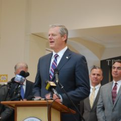 Gov. Baker announces expanded Western Mass north-south rail service, money for east-west rail study