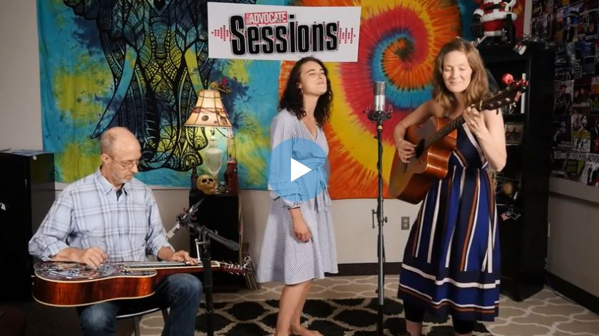 Christa Joy on the Valley Advocate Sessions Stage