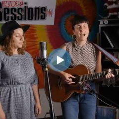 Emma June on the Valley Advocate Sessions Stage