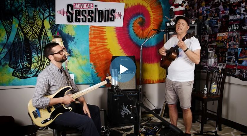 The Frost Heaves and Hales on the Valley Advocate Sessions Stage