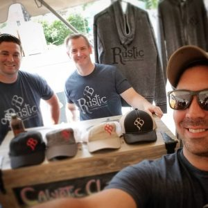 Rustic Brewing Company founders Eric Paul, Todd Kopiec, and Jared Methe won a Brewer's Choice award at last year's Connecticut River Brewfest for their lavender milkshake IPA .
