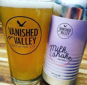 The popular milkshake IPA series recently launched by Vanished Valley Brewing Company in Ludlow has featured ingredients such as peach, juniper berry, pineapple, mango, and strawberry shortcake.