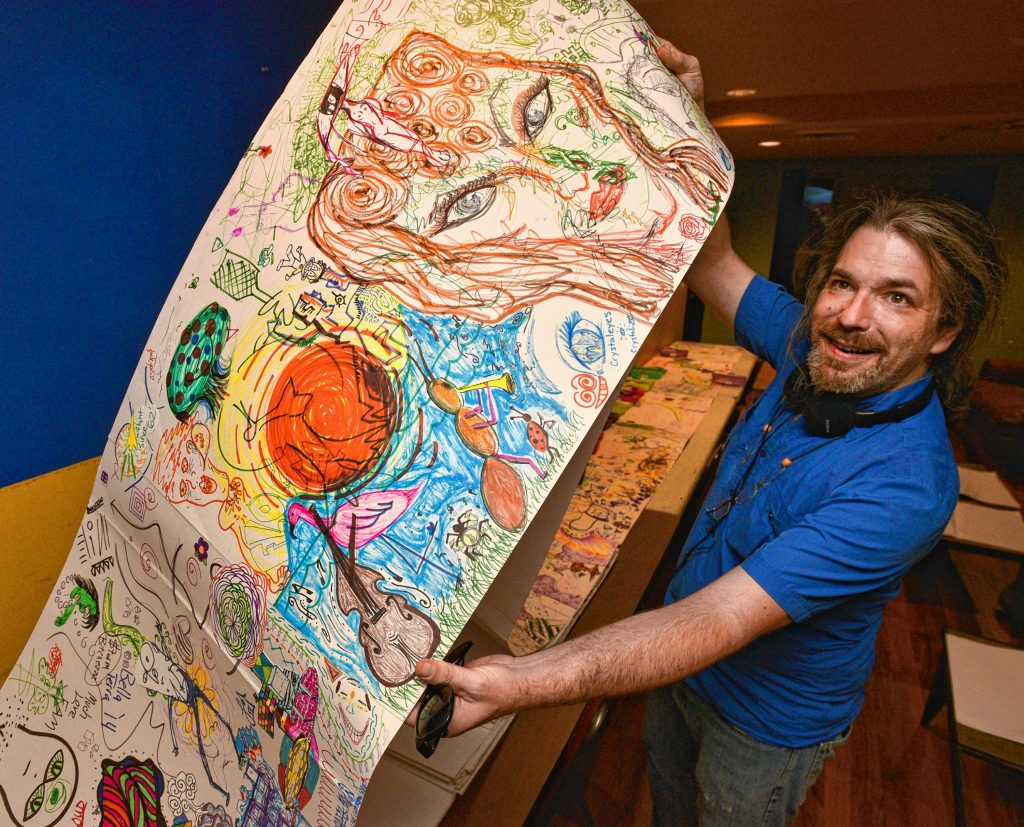 Longmeadow Artist Max Rudolph Wants You To Draw In His Community Wide Giant Coloring Book Project