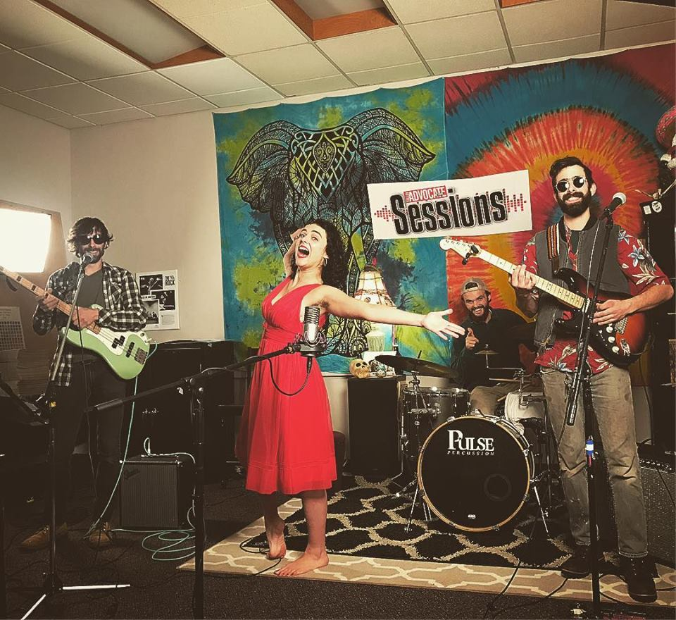 Lexi Weege & The Wondertwins on the Valley Advocate Sessions Stage