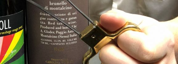 Monte Belmonte Wines: How NOT to Open Wine Like an Ah-So