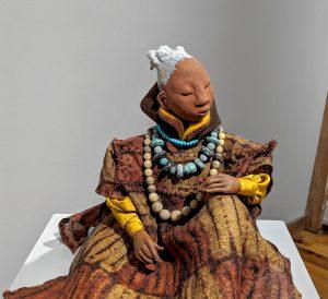 Nana Buluku, the creator of the Earth, sun, and moon