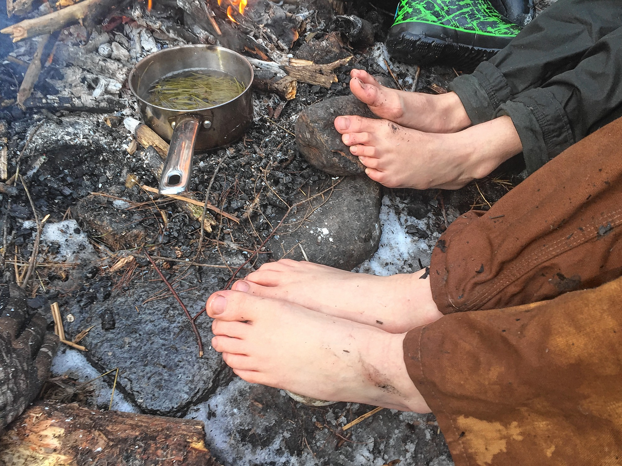 Wellness: Going Barefoot to Connect with the Natural World