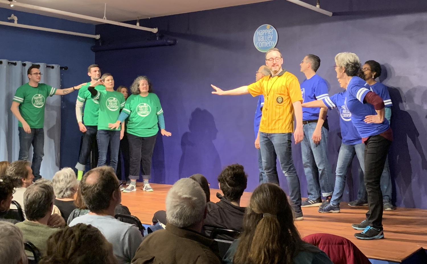 Stagestruck: Happier Valley Comedy – Joy in the unexpected