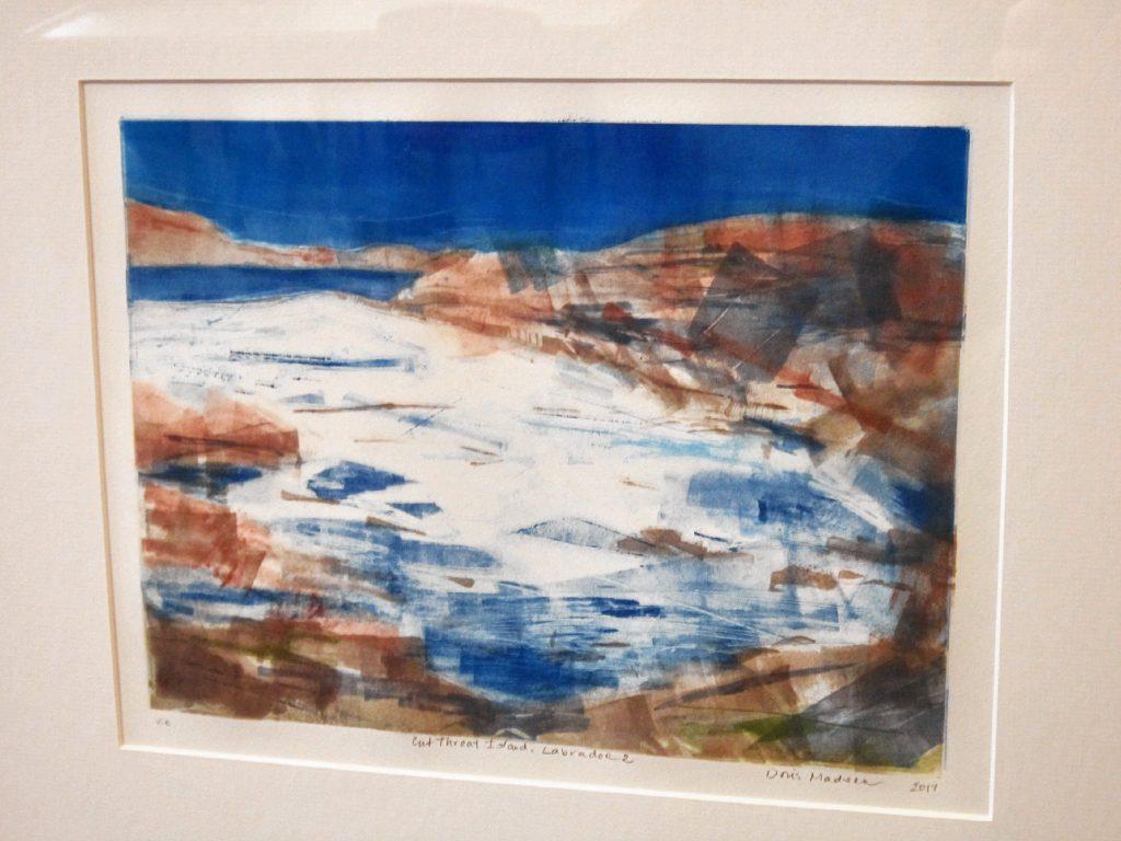 """Cut Throat Island, Labrador"" by Doris Madsen."