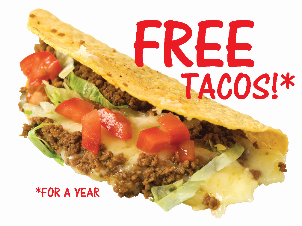 Bizarro Briefs: A Year of Free Taco Bell