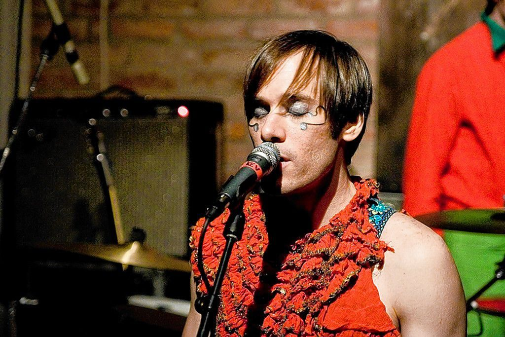 Kevin Barnes performs with of Montreal at a venue in Swedend on November 3, 2005. The band has released more than a dozen studio albums since its debut in 1997.