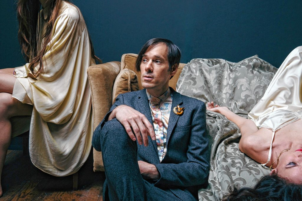 Kevin Barnes, lead vocalist/ songwriter for of Montreal.