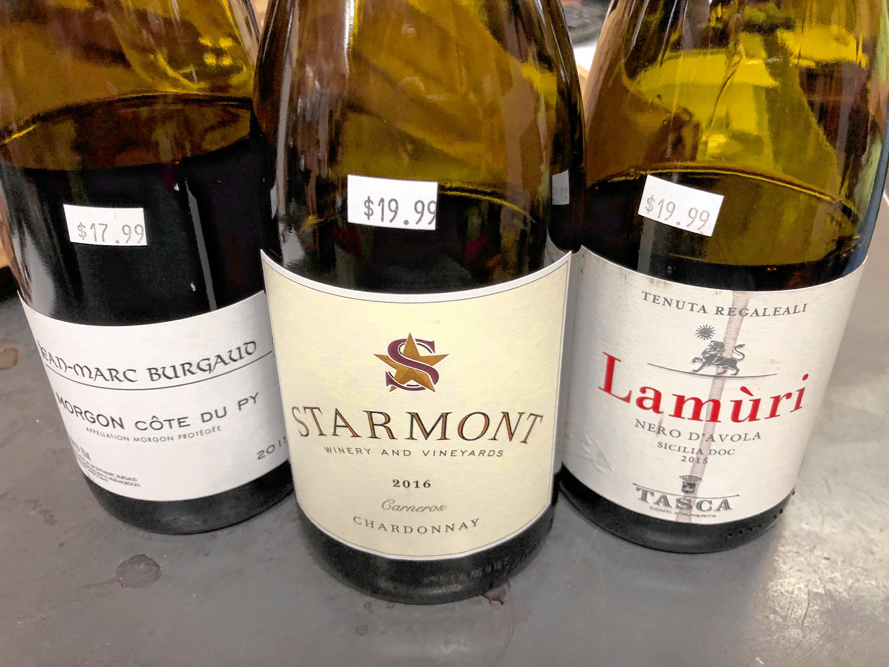 Monte Belmonte Wines: An Unscientific Blind Taste Test