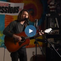 Julian Sherwood on the Valley Advocate Sessions Stage