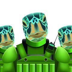 Bizarro Briefs: Turtle Power!
