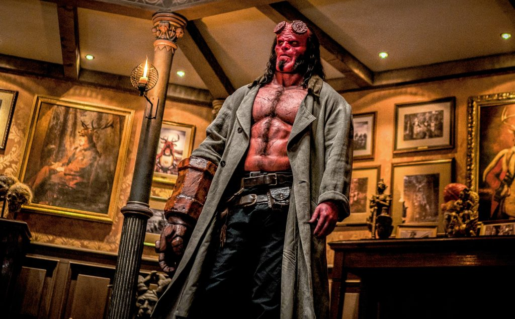 David Harbour stars as €˜Hellboy€™ in HELLBOY. Photo Credit: Mark Rogers.