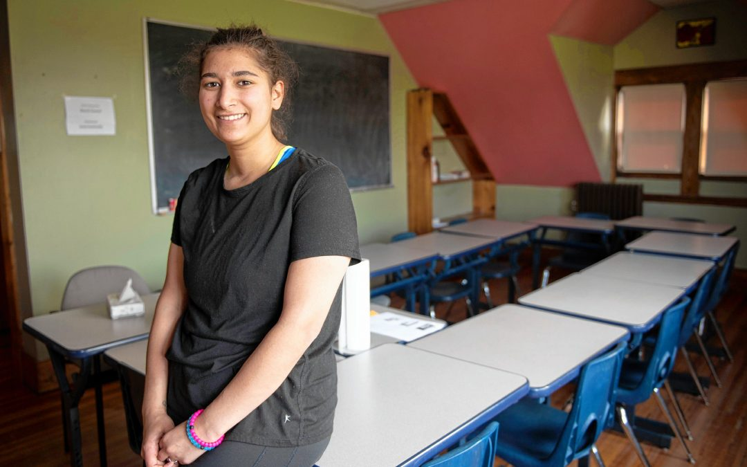 Rising Above Expectations: Teen moms, struggling students get degrees through Holyoke's Care Center