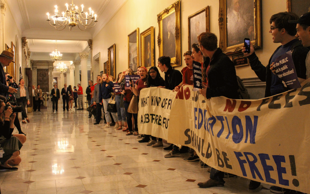 UMass activists, Speaker DeLeo, accuse one another of 'Trumpian tactics' in exchange on education affordability