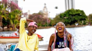 A scene from Rafiki, which will be screening at the Academy of Music in Northampton this Saturday.