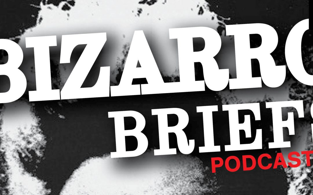 Bizarro Briefs Podcast: Disappointing attendance at Area 51 raid, a nonexistent flatulence competition, and biting a camel in self defense