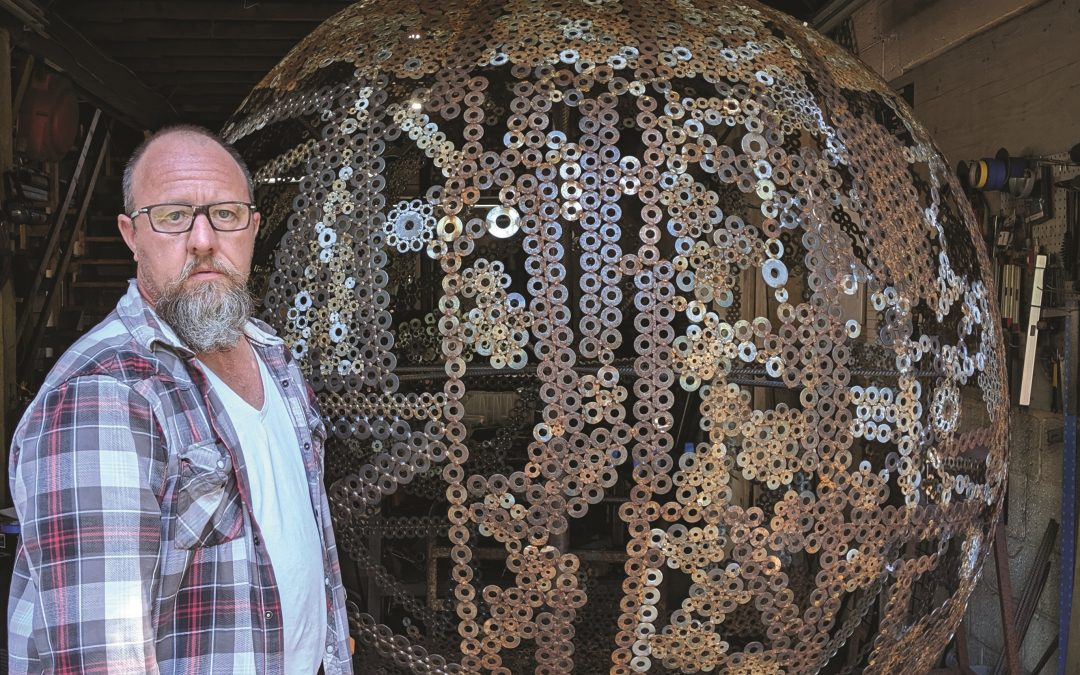 Easthampton's Artisan Welder: Michael Poole's work inspires whimsy and reflection