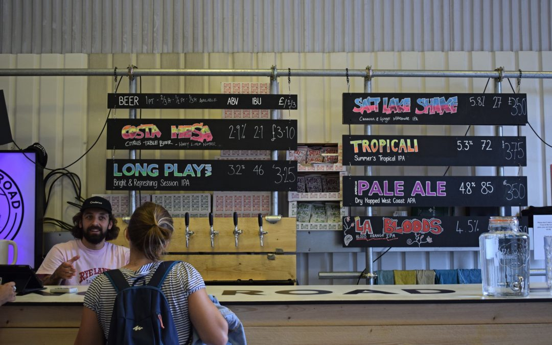 The Beerhunter Abroad: Calling London's Craft Beer Mile