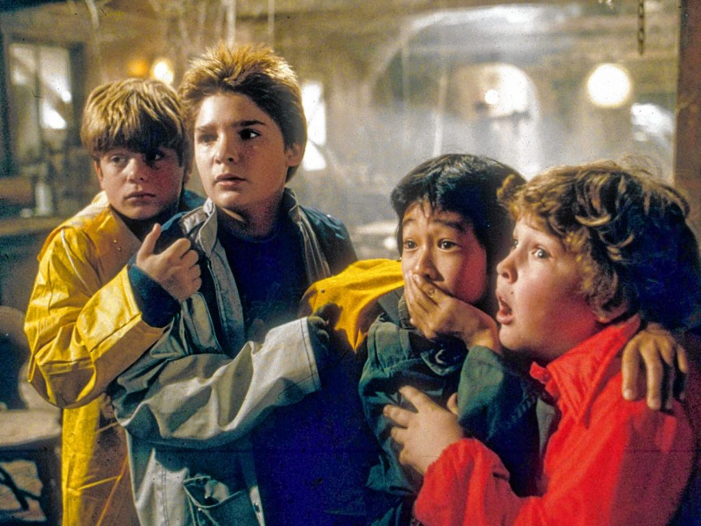 The Goonies, courtesy Warner Bros