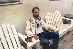 David Berman in Nashville, Tennessee, circa early 2000s.