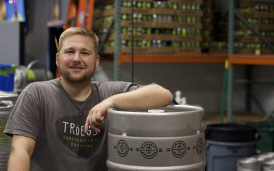 The Beerhunter: Caleb Hiliadis Takes the Lead at Amherst Brewing