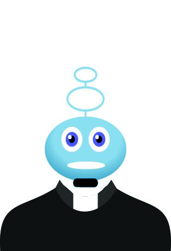 Bizarro Briefs: Praying with Robot Priests